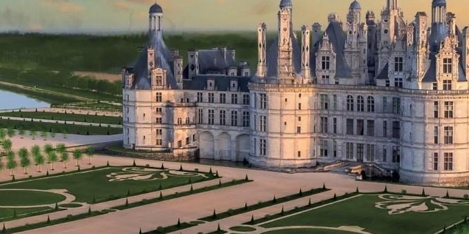 Chambord retrouve ses jardins à la française du 18eme siècle : Ouverture au public depuis le 20 Mars 2017