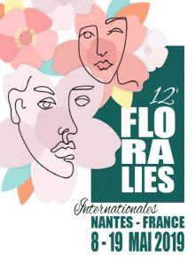 12 eme Floralies de Nantes du 8 au 19 Mai 2019