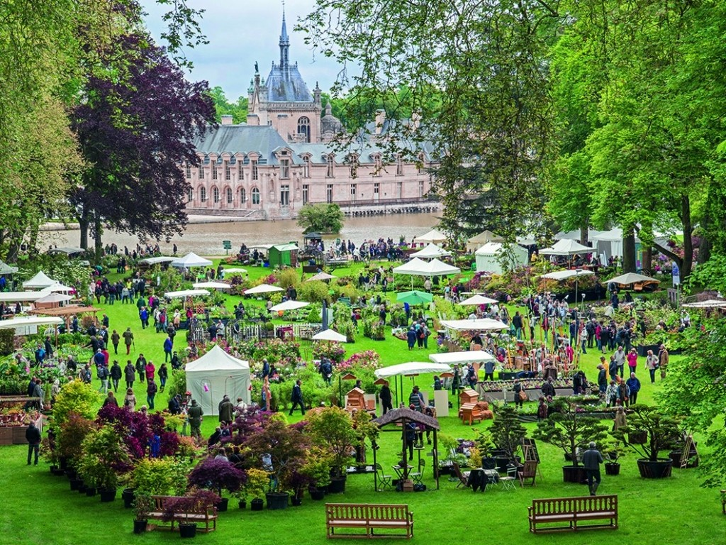 L'Europe des jardiniers a rendez-vous à Chantilly du 17 au 19 mai 2019