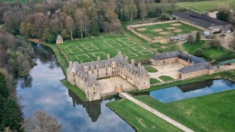 Le château du Rocher Portail retrouve ses jardins Renaissance