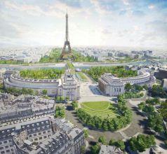 en 2024, autour de la tour Eiffel, « le plus grand jardin » de Paris