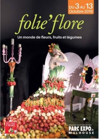 Folie'Flore un show floral à Mulhouse unique en Europe pour la 19eme année !