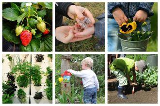 Jardinage : 1m² de jardin par enfant chez les grands-parents
