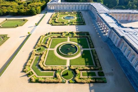 Le vert à l'honneur au jardin du Grand Trianon