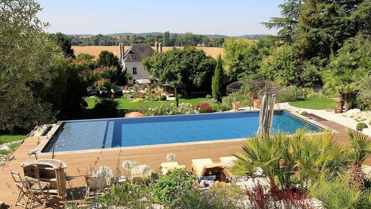 La piscine paysage par l'esprit piscine
