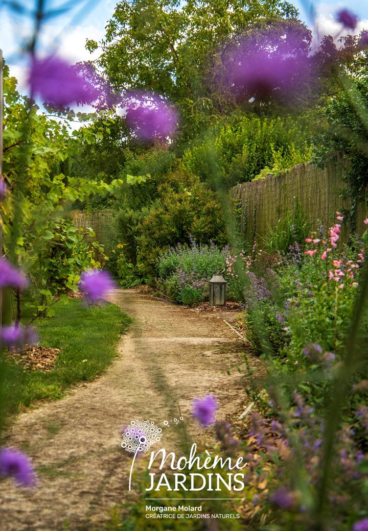 Un jardin en ville plein de vie