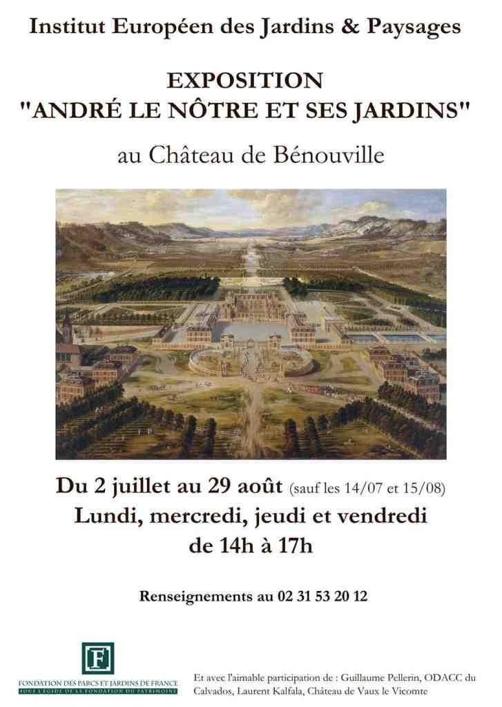 André Le Nôtre et ses jardins