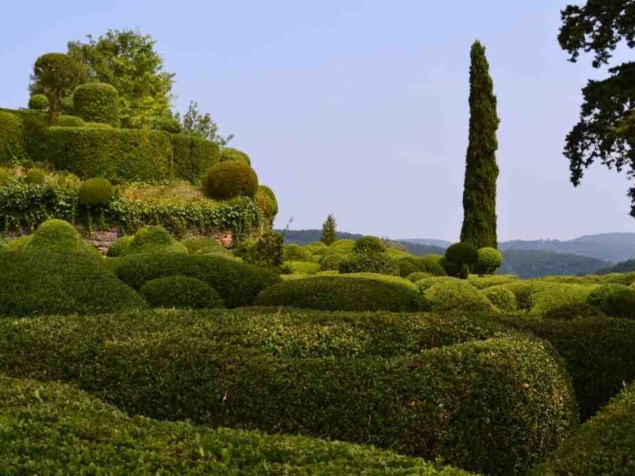 Les jardins suspendus de marqueyssac beaux jardins et potagers - Jardins suspendus de marqueyssac ...