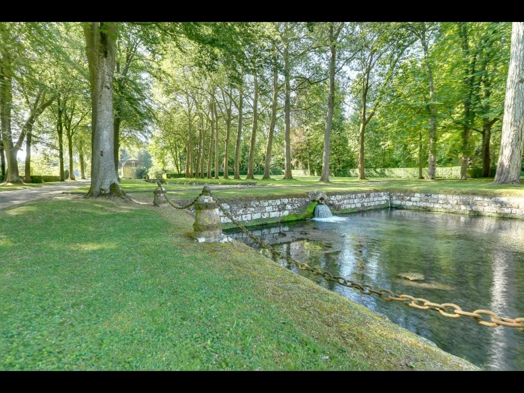 parc du ch teau de courances cinq si cles d 39 histoire des jardins beaux jardins et potagers. Black Bedroom Furniture Sets. Home Design Ideas