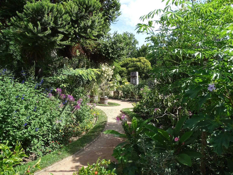 le jardin mexicain du parc de la t te d 39 or beaux jardins et potagers. Black Bedroom Furniture Sets. Home Design Ideas