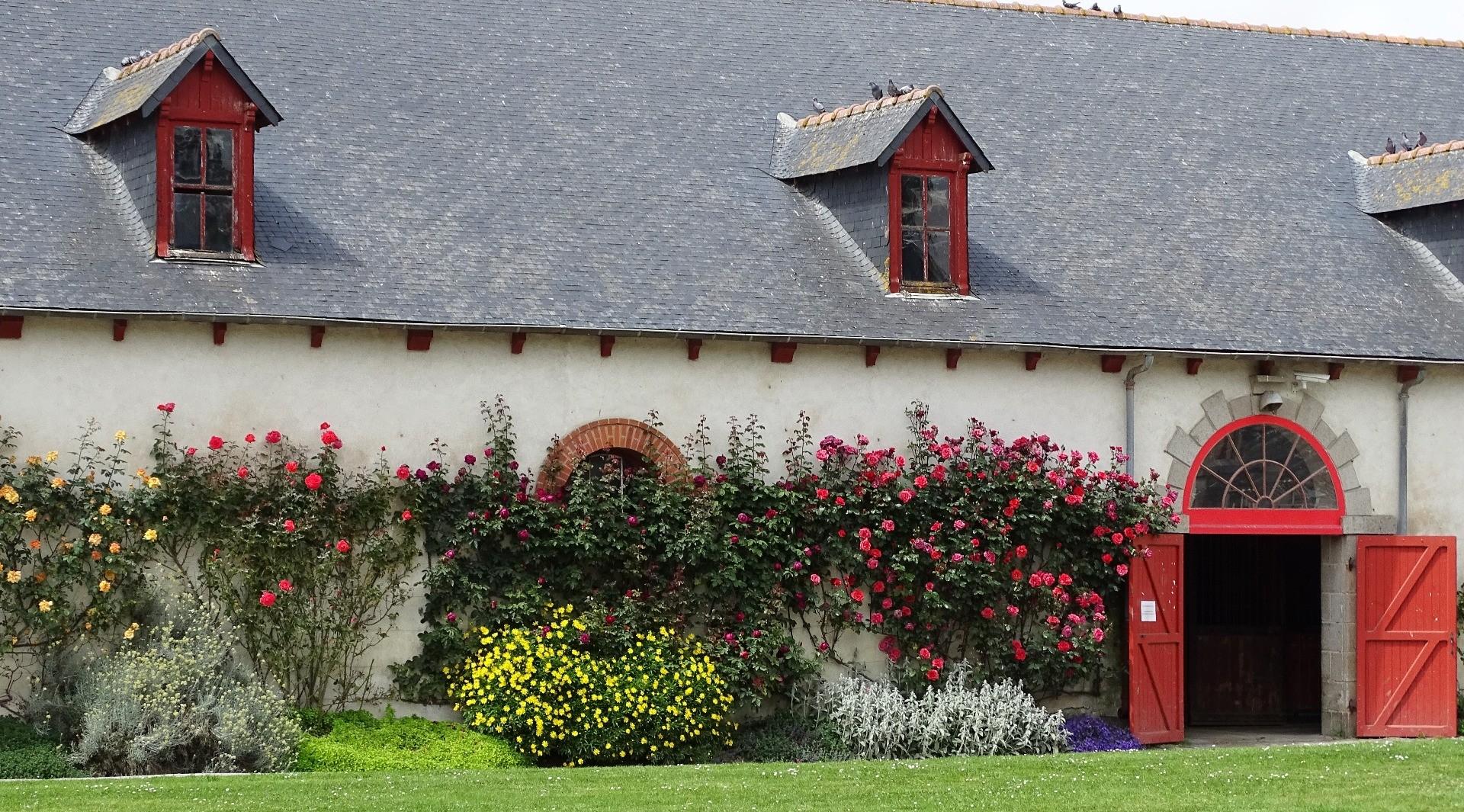 Visite des espaces verts du Haras national de Lamballe Beaux
