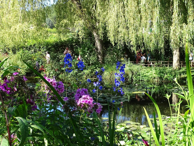 Le clos normand le jardin aux fleurs de claude monet for Jardin aux fleurs