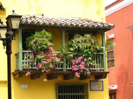 Sur les balcons et terrasses