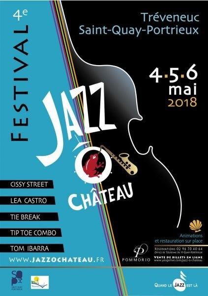 Jazz dans les jardins du Château de Pommorio