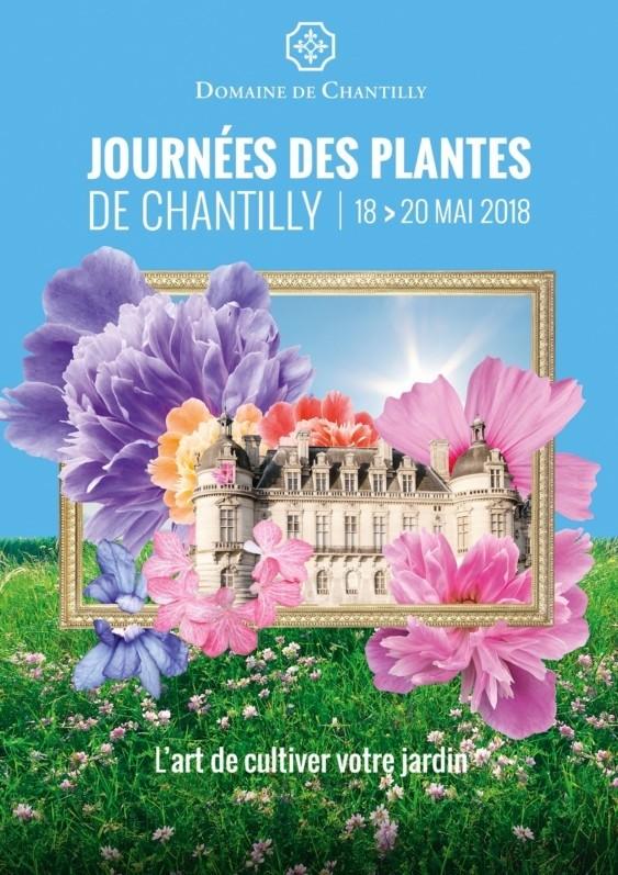 L'Europe des jardiniers a rendez-vous au Domaine de Chantilly les 18, 19 et 20 mai 2018
