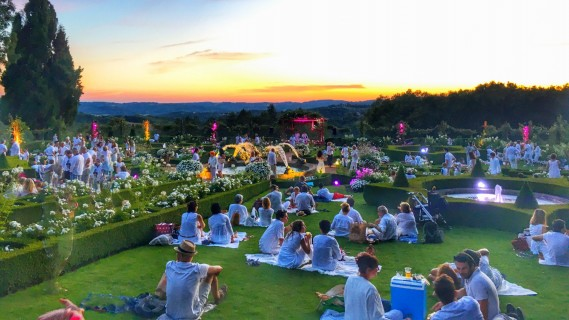 Happy Pique-Nique dans les jardins du Manoir d'Eyrignac - 16 juillet au 20 août 2018