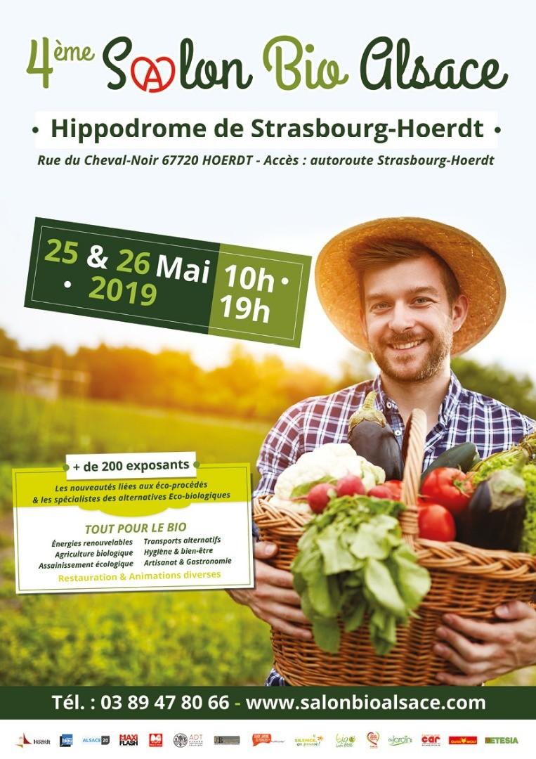 Le 4ème Salon Bio Alsace aura lieu les 25
