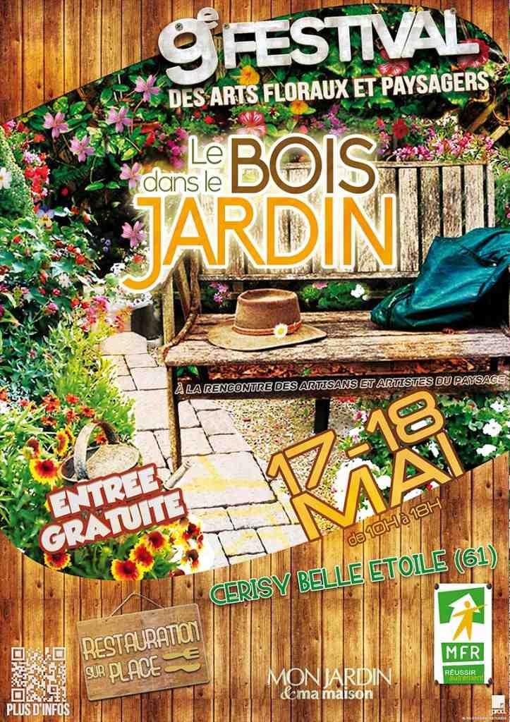 """9ème Festival des Arts Floraux et Paysagers 2014  """"LE BOIS DANS LE JARDIN"""""""