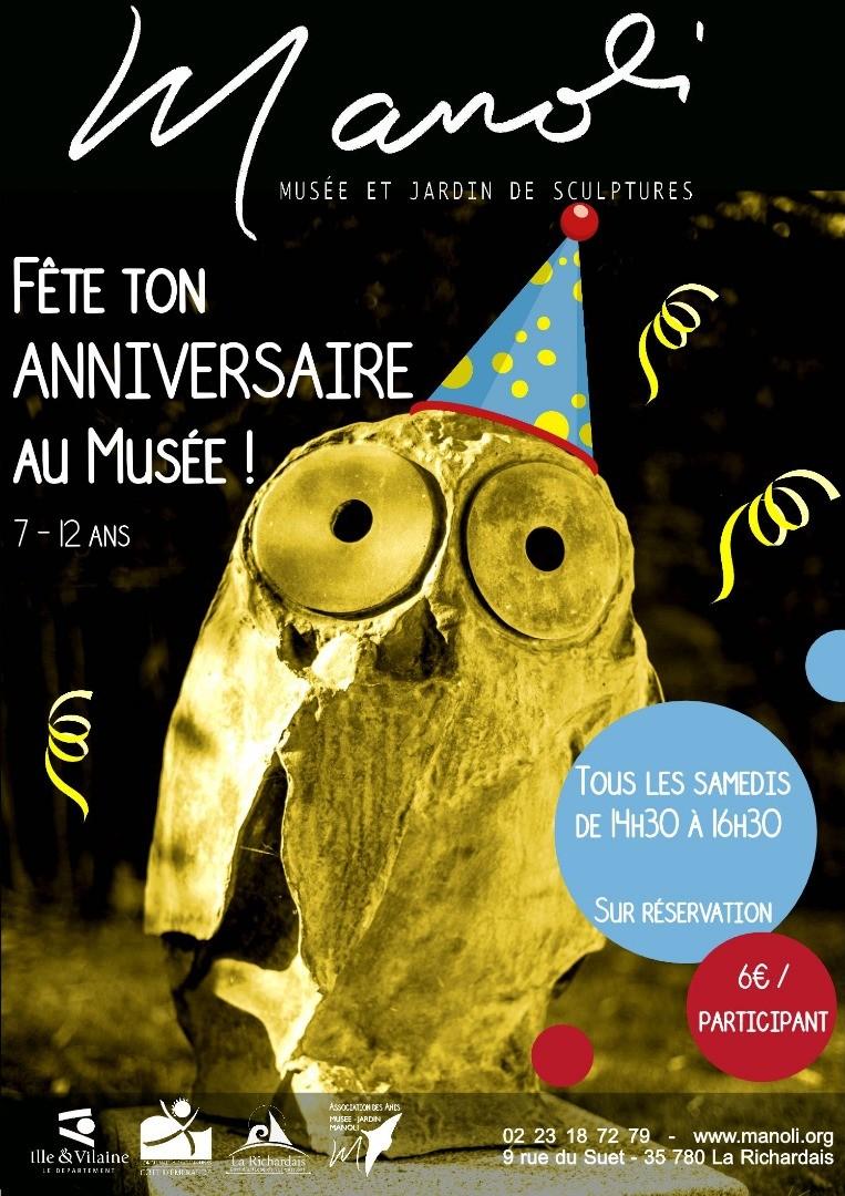 Fête ton anniversaire au musée!