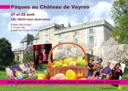 Pâques au Château de Vayres