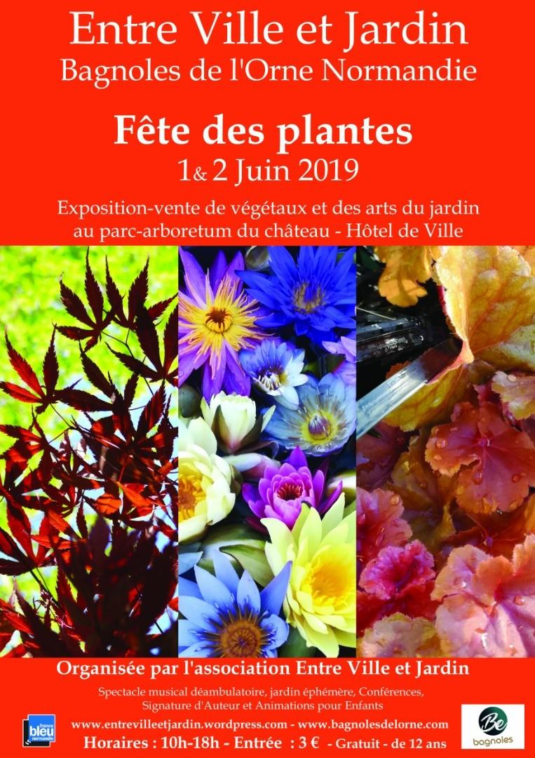 Fête des plantes - Entre ville et jardin - Bagnoles de l'Orne Normandie