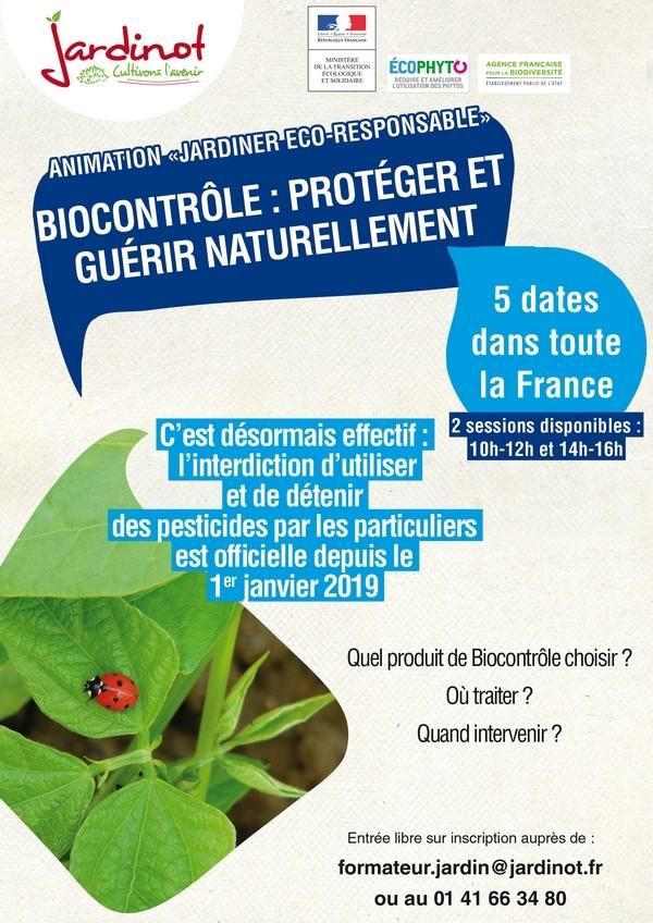 Le Biocontrôle : prévenir et guérir naturellement