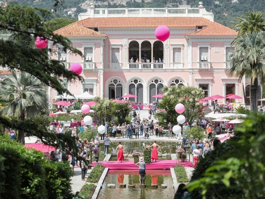 La  Fête des Roses et des Plantes aux Jardins Ephrussi de Rothschild fête ses 10 ans !