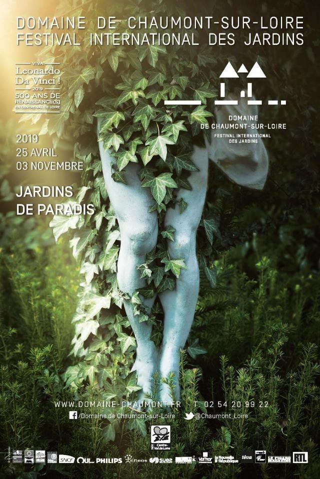 """28ème édition du Festival International des Jardins :""""Jardins de paradis"""""""