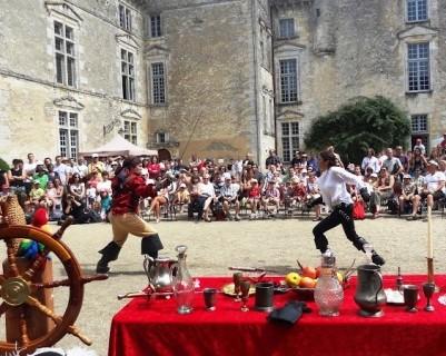 Festival Chevaliers et Mousquetaires au château de Vayres