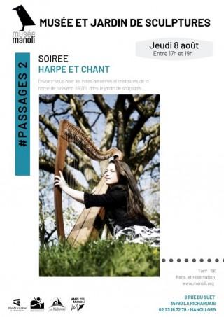 #PASSAGES: Soirée harpe et chant avec Nolwenn Arzel