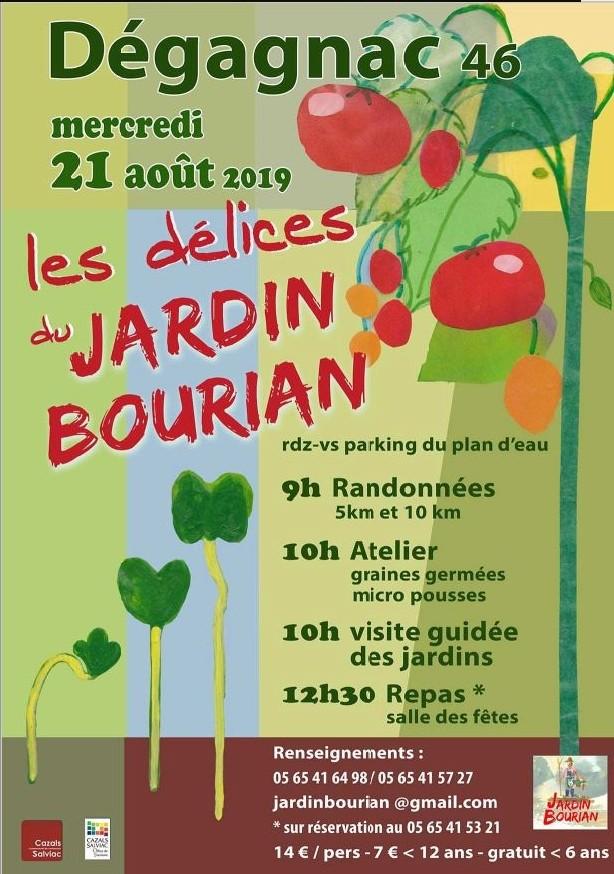 Les délices du Jardin Bourians