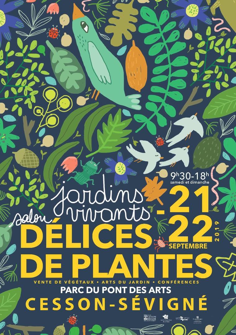 « Délices de Plantes » – Salon des jardins et du végétal