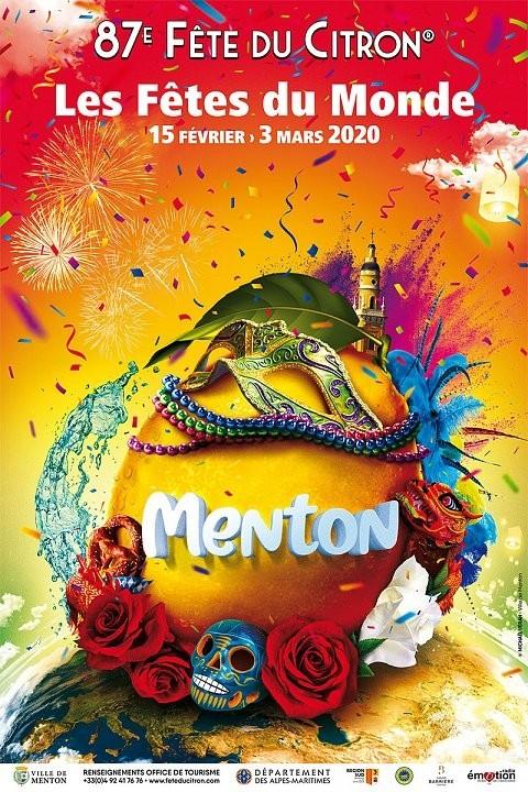 87ème Fête du Citron à Menton