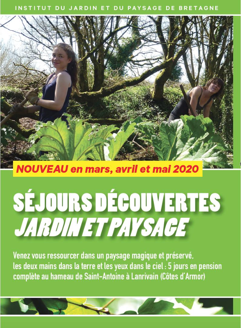 Séjours-découvertes, DESSIN ET CONCEPTION DU JARDIN
