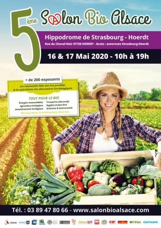 5ème Salon Bio Alsace 2020 - Strasbourg