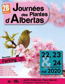 Les 22, 23 et 24 mai 2020 : 28e édition des Journées des Plantes d'Albertas