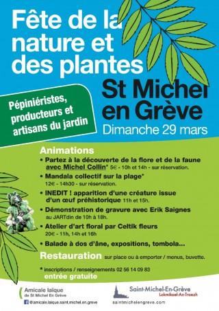 Saint Michel en Vert - Fête de la Nature et des Plantes