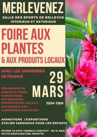 FOIRE AUX PLANTES ET AUX PRODUITS LOCAUX