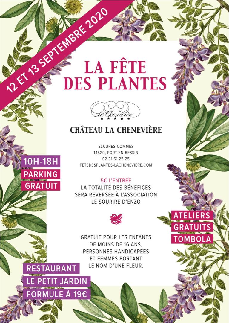 La Fête des Plantes au Château la Chenevière