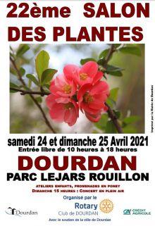 22ème SALON DES PLANTES DE DOURDAN (Essonne 91)