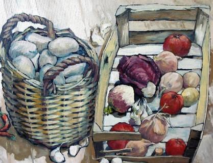 exposition de peinture Penelope ALLEN