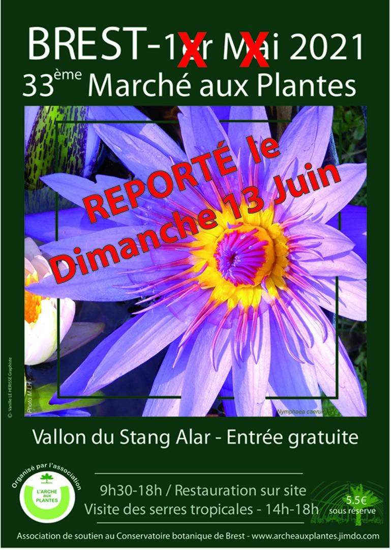 Marché aux Plantes de Brest