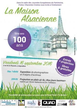 100 ans de la Maison Alsacienne