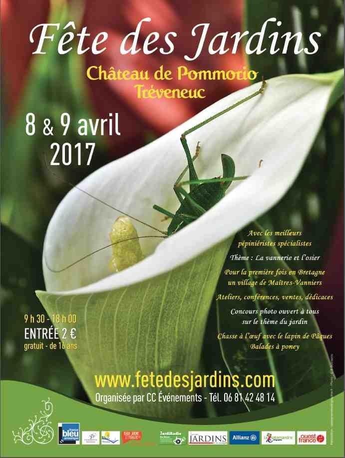 Fête des Jardins 8 et 9 avril 2017
