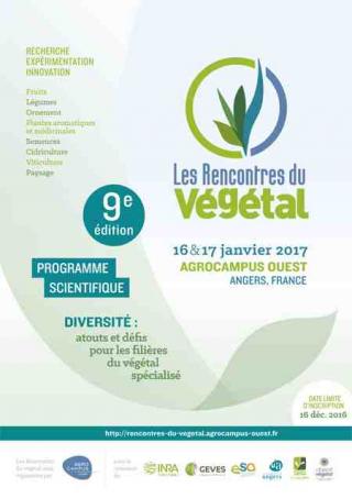 9eme Rencontre du Végétal : Atouts et défis pour les filières du végétal spécialisé