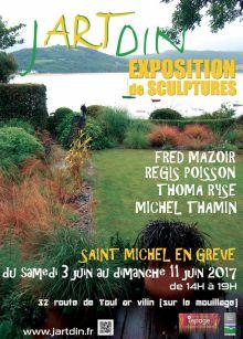 Exposition de sculptures d'extérieur