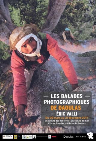 Exposition photographique d'Eric Valli dans les jardins de l'Abbaye de Daoulas