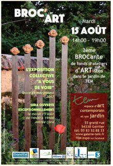 Broc'Art, deuxième brocante de fonds d'ateliers d'artistes en Lorraine