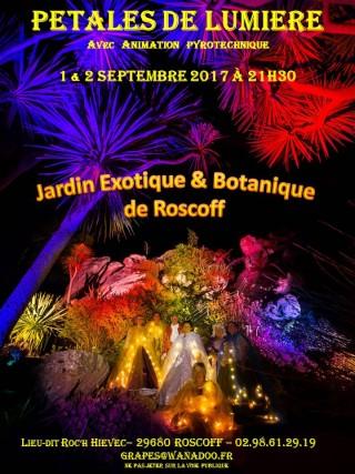 Pétales de lumière au Jardin Exotique et Botanique de Roscoff