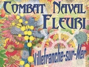 Combat Naval Fleuri à VILLEFRANCHE SUR MER